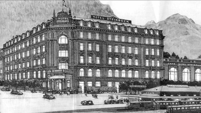 hotel steinbock.