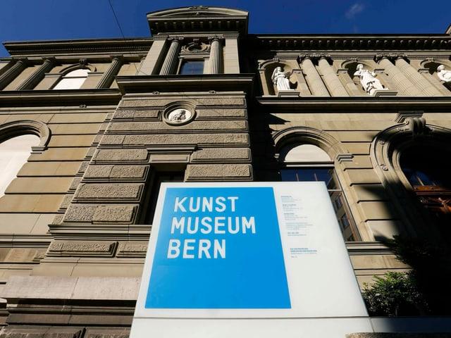 Blick auf das Kunstmuseum in Bern