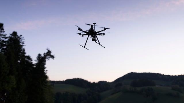 Der Einsatz von Drohnen in Horw war gemäss Gericht unzulässig.