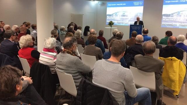 Viele EVPler an der Parteiversammlung in Brugg
