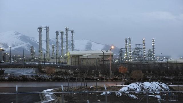 Implant atomar en l'Iran.