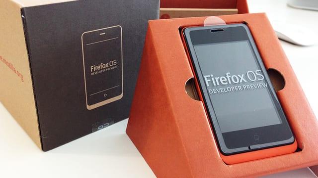 Screenshot Firefox OS