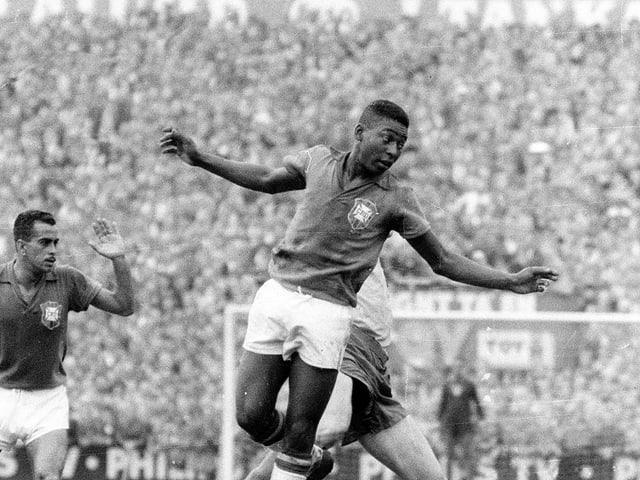 Pelé an der WM 1958.