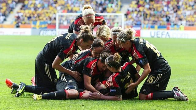 Deutschland jubelt.