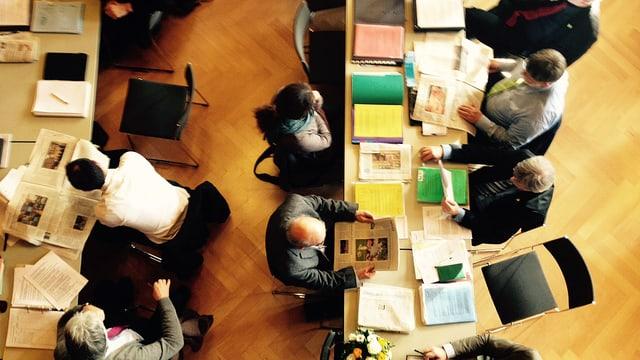 Kantonsräte im Grossen Rat in Weinfelden
