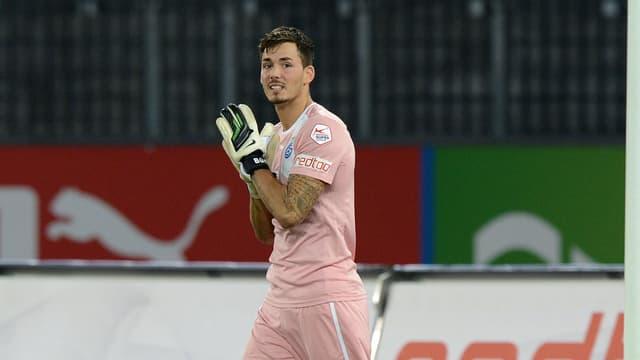 GC-Keeper Roman Bürki freut sich auf das Aufeinandertreffen mit Bruder Marco.