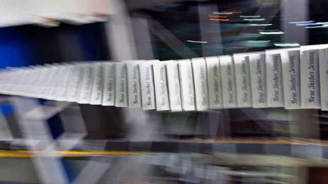 Wird ab Mitte Jahr nicht mehr in Schlieren gedruckt: Die NZZ.