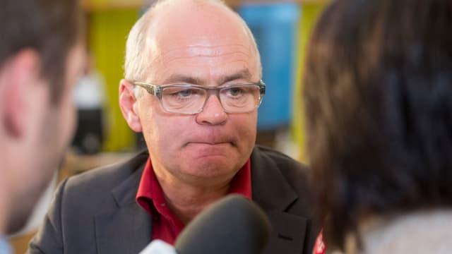 Der abgewählte Schwyzer SP-Nationalrat Andy Tschümperlin.