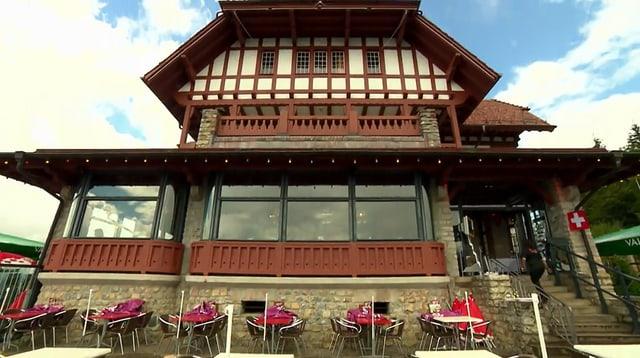 Video «Berner Oberland – Tag 3 – Restaurant Harder Kulm, Interlaken» abspielen