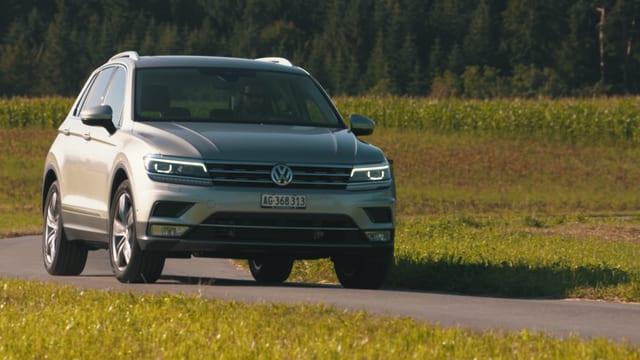 Video «Tiguan vs. Golf, Oldtimer winterfest, VW nach dem Abgasskandal» abspielen