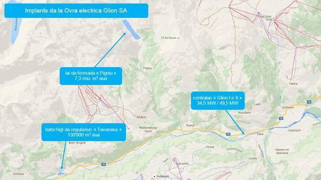 Survista dals implants da la Ovra electrica Glion SA.