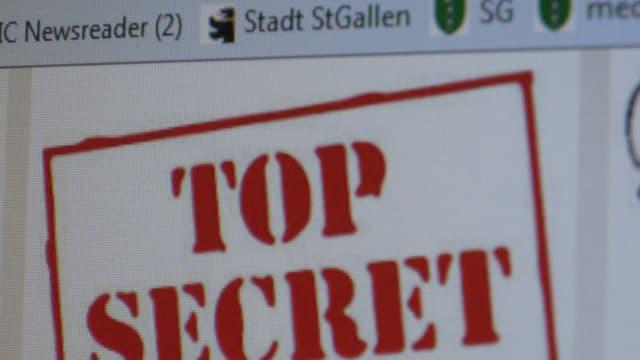 Deklaration von geheimen Akten