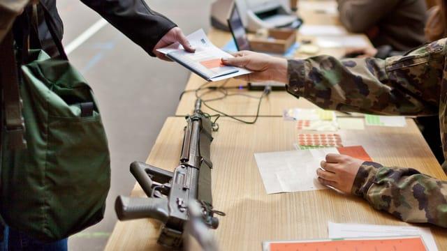 In'arma da militar sin ina maisa