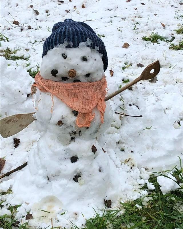 Ein Schneemann