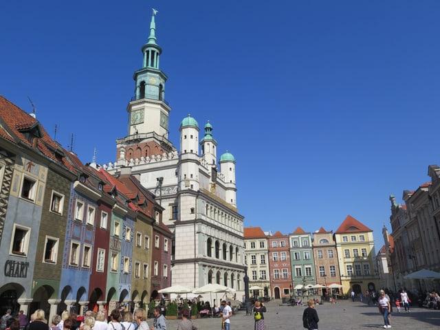 Das Rathaus von Posen