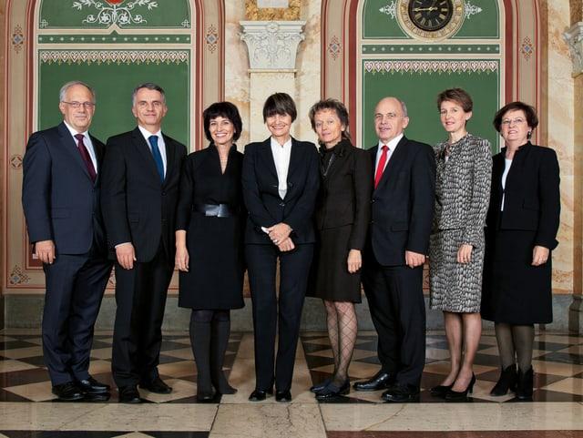 Bundesratsfoto 2011