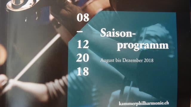 program da la filarmonia da chombra dal Grischun
