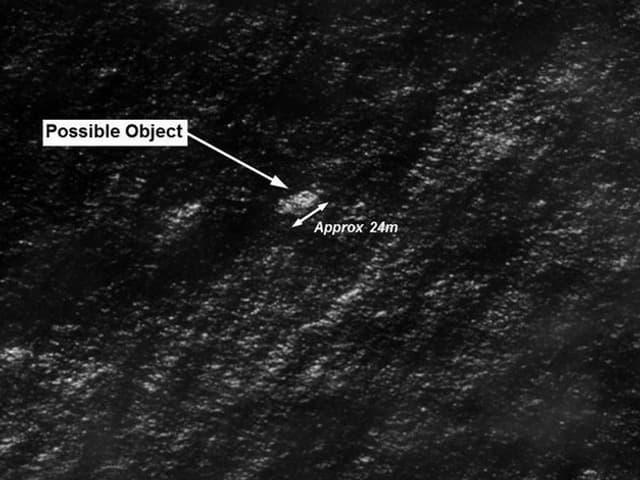 Die bis zu 24 Meter grossen Objekte sollen sich südwestlich von Perth befinden.