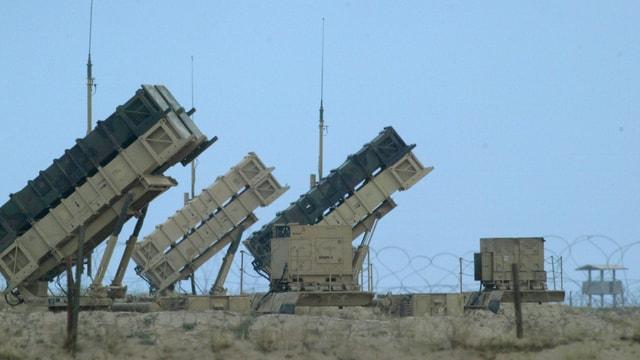 Flugabwehr-System Patriot