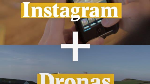 Laschar ir video «Instagram + Dronas = Dronestagram»