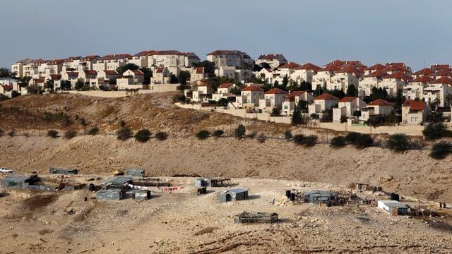 Siedlung Maale Adumim im besetzten Westjordanland.