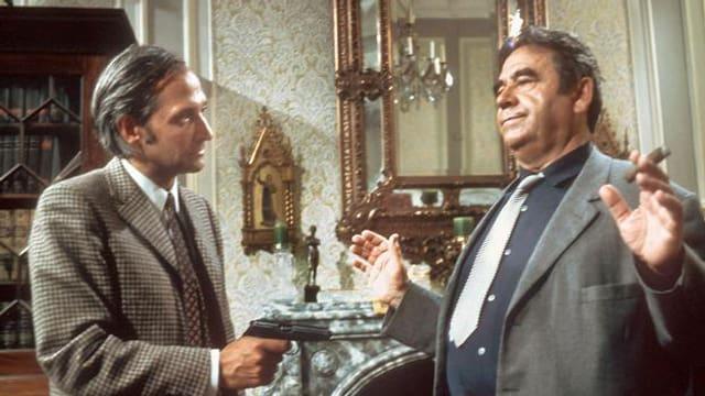 Darsteller im ersten «Tatort» aus 1970.