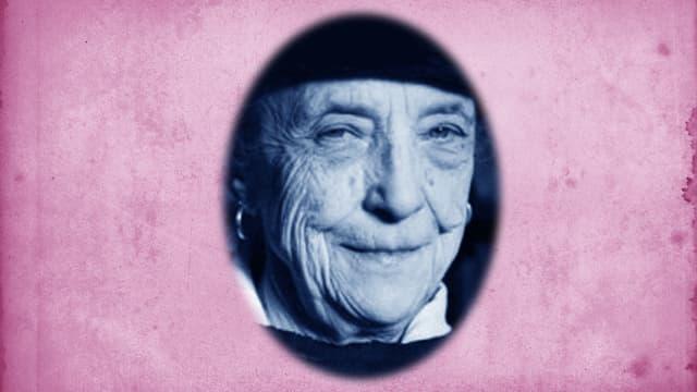 Louise Bourgeois, französisch-amerikanische Künstlerin und Schöpferin der Spinnenskuplturen «Maman»