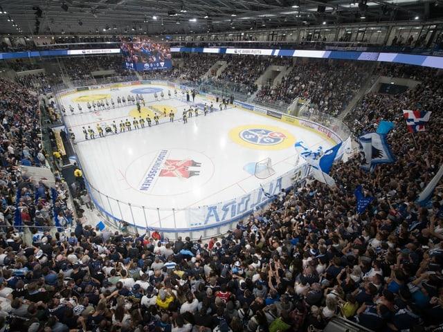 Eishockey-Stadion.