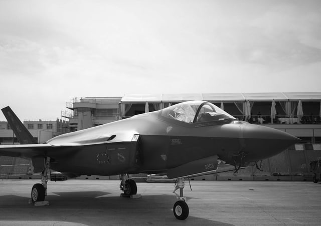 Bild des F-35.