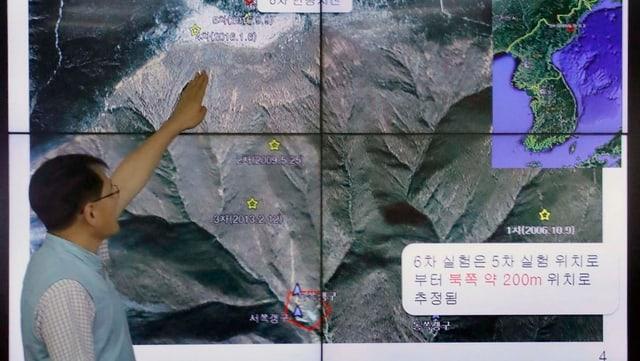 Zerstörungs-Show in Punggye-ri