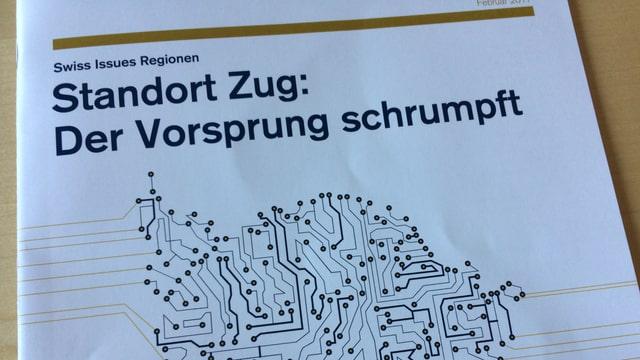 Der Zuger Finanzdirektor Heinz Tännler ist mit diesem Titel nicht ganz glücklich.