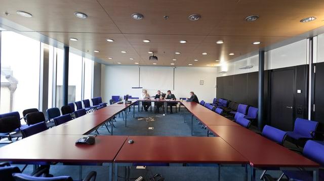 Sitzungszimmer in einer Firma
