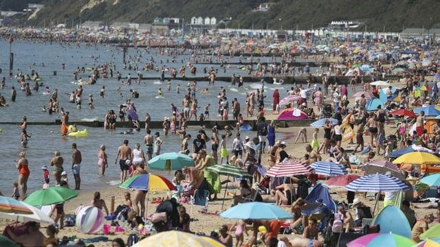 Strand von Bournemouth.