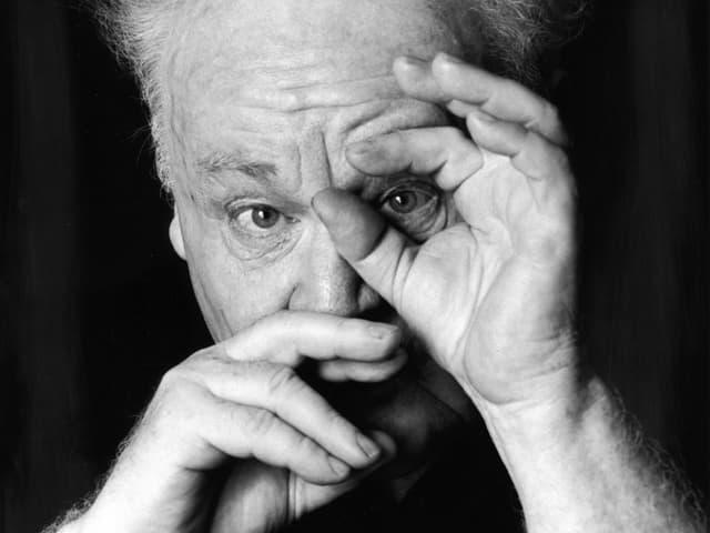 Porträt des Fotografen Stefan Moses.