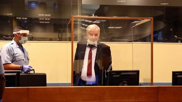 Mladic vor Berufungsgericht