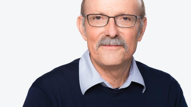 Porträt von Jürg Frischknecht.