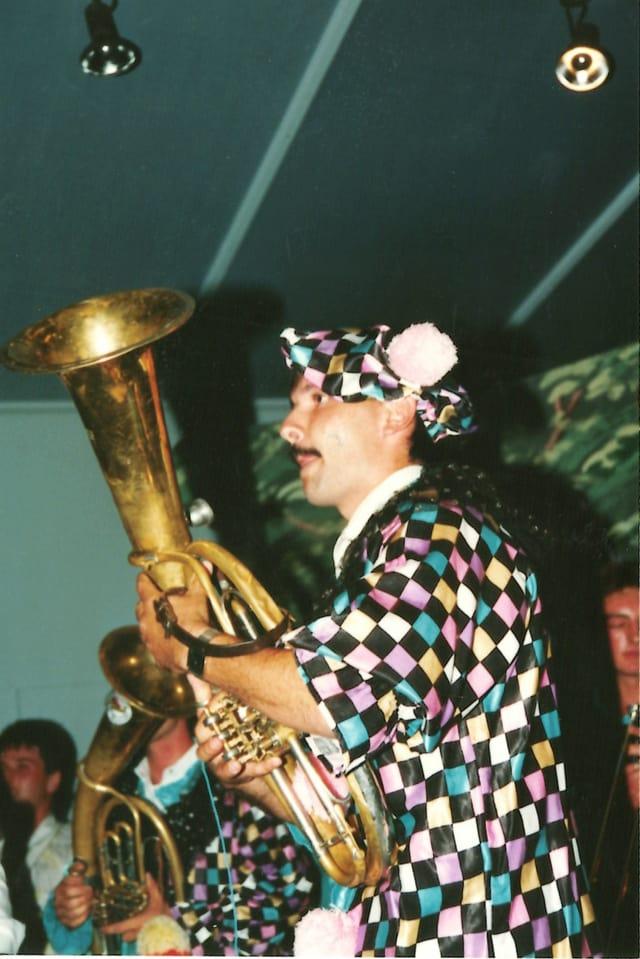 Eugen Monn cun Las Zoclas il 1994.