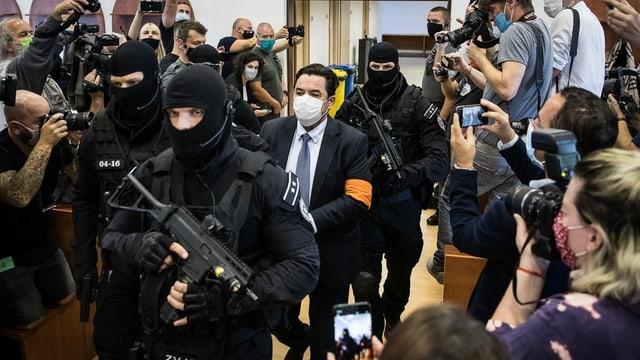 Nahm seinen Freispruch im Gerichtssaal stoisch zur Kenntnis: Marián Kočner