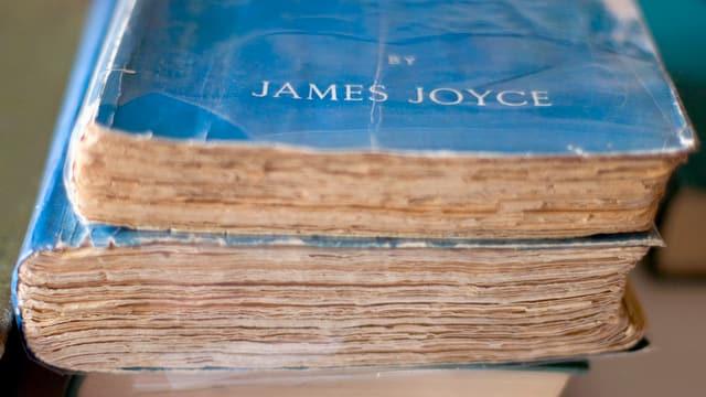 Bücher von James Joyce.
