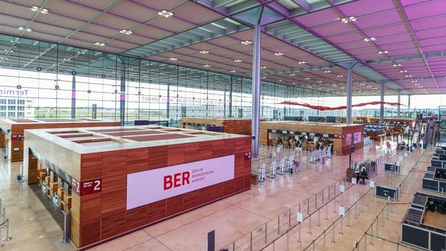 Flughafen Berlin Brandenburg Terminal 1