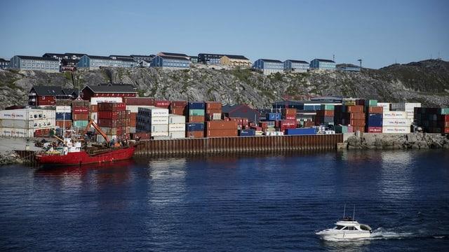 Dänemark gehört mit der Insel Grönland auch zu den arktischen Anrainern.