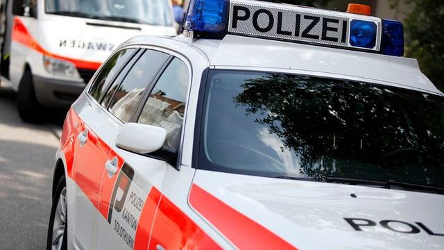 Polizeifahrzeuge der Polizei Kanton Solothurn