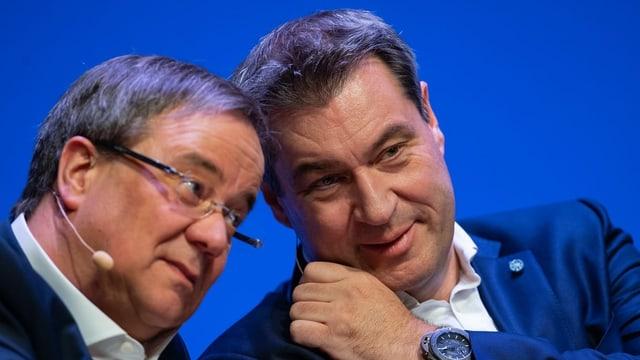 Laschet und Söder.