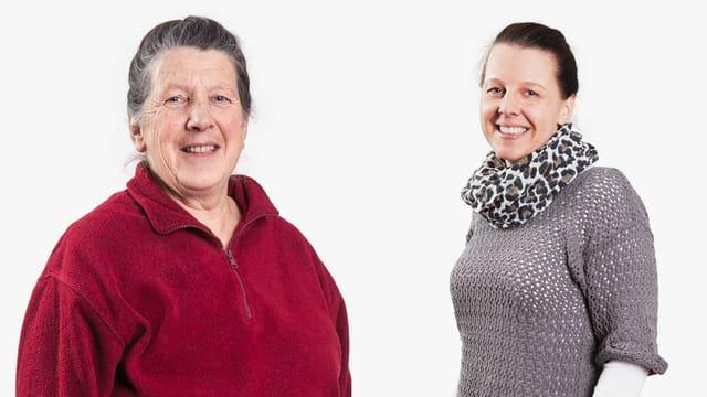 Porträt von Greti Müller und Marianne Müller