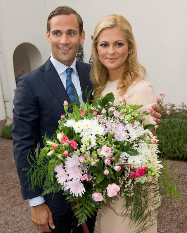 Madeleine von Schweden und Jonas Bergström