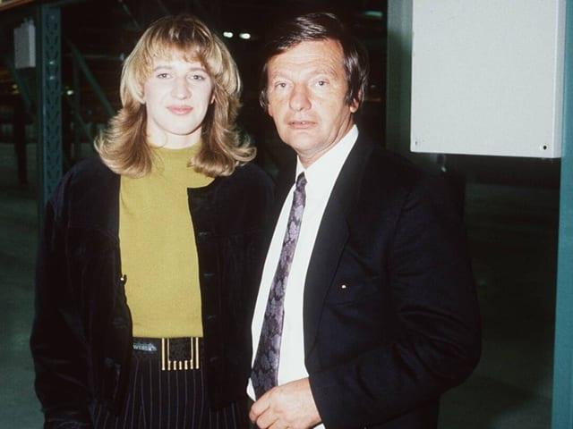 Steffi und Peter Graf.