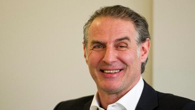 Felix Hollenstein, der neue Chefcoach der Kloten Flyers