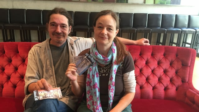 Peter und Sabine Heusser-Engel, Initianten Eulach-Taler