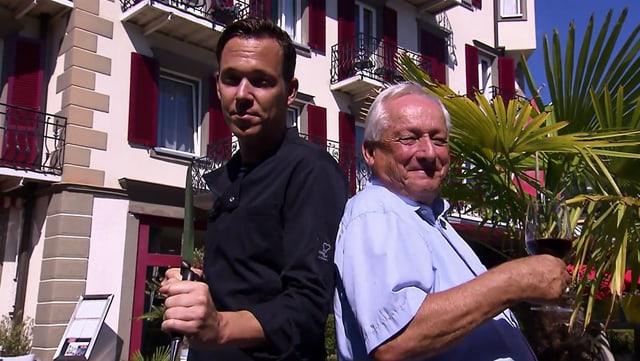 Video «Kanton Luzern - Tag 4 - Seehotel Gotthard, Weggis» abspielen