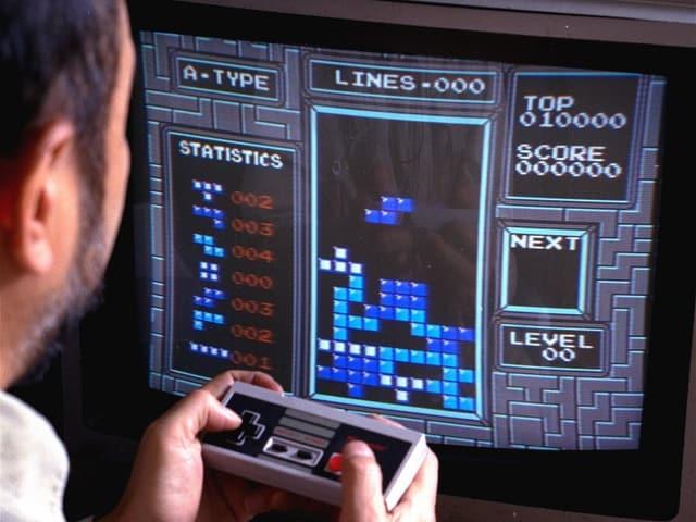 «Tetris» auf der ersten Generation Nintendo.